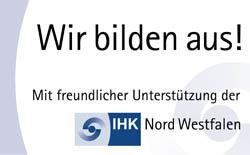 Ausbildungsbetrieb der IHK Nordwestfalen
