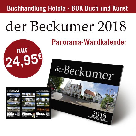 der Beckumer 2018 – Panorama-Wandkalender