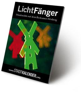 russigdesign Werbeagentur in Beckum – Windmühle als LichtFänger