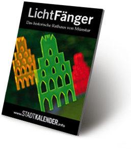russigdesign Werbeagentur in Beckum – Rathaus von Münster als LichtFänger