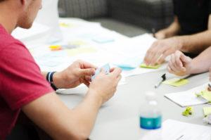 Existenzgründung Gründer Gründerinnen Workshop Gestaltung Corporate Design